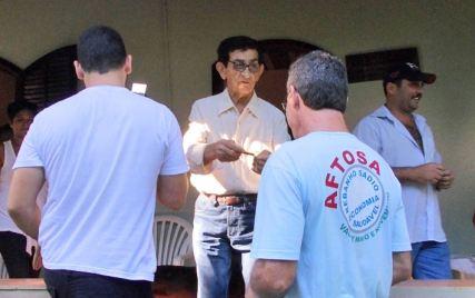 Um dos maiores produtores rurais de Saquarema Manuel Gomes, participa também da campanha de vacinação contra a Febre Aftosa (Divulgação)