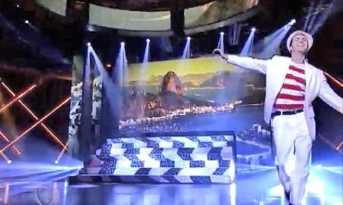 Artista saquaremense é destaque em programa de TV