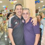 Os sócios: pai e filho, Paulinho e Nei Oliveira