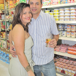 Paulinho e a esposa e parceira Jania Carla (Foto: Edimilson Soares)