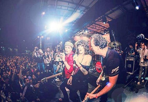 Comemorando mais uma primavera, Serguei mostra que tem rock na veia (Foto: Facebook Serguei Pandemoniun)