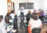 Reunião da ABES, no Rio de Janeiro, com apresentação  do arquiteto Mauro Scazufca (Foto: Dulce Tupy)