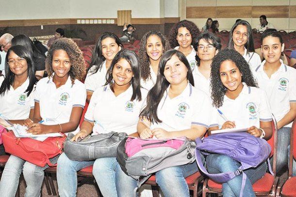Participação de alunos da Faetec na Rede Comunidade em Búzios (Foto: Edimilson Soares)