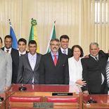Eleito presidente da Câmara para o mandato 2013-2014, o vereador Paulo Renato vem demonstrando sua liderança no encaminhamento dos projetos de leis (Foto: Edimilson Soares)