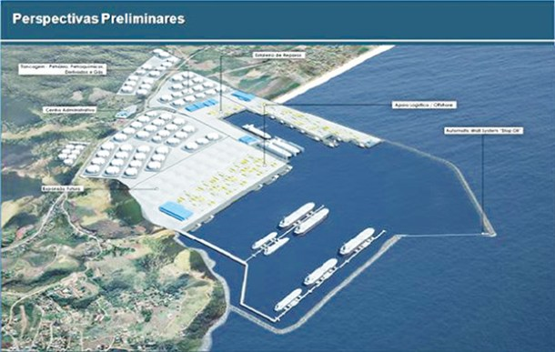 O mega empreendimento portuário pode alterar todo o ecossistema da Praia de Jaconé (Foto: Divulgação)