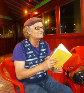 O poeta Paulo Barata (Foto: Telma Cavalcanti)