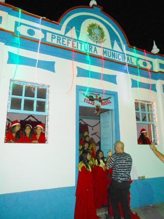 Apresentação na Casa da Cultura (Foto: Dulce Tupy)