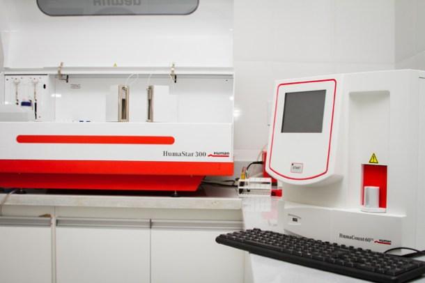 Novos equipamentos garantem rapidez nos resultados (Foto: Divulgação)