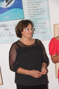 A poeta Dulce Caccavo (Foto Edimilson Soares)