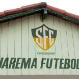 A fachada do Saquarema Futebol Clube, potência do município, criado em 1920. (Fotos: Paulo Lulo)