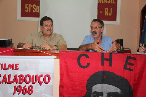 Os produtores Paulo e Sardinha (Foto: Edimilson Soares)