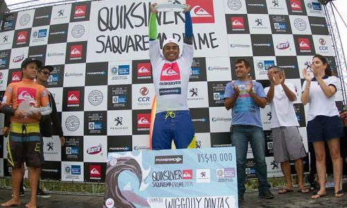 Quiksilver Saquarema Prime Campeonato com final brasileira