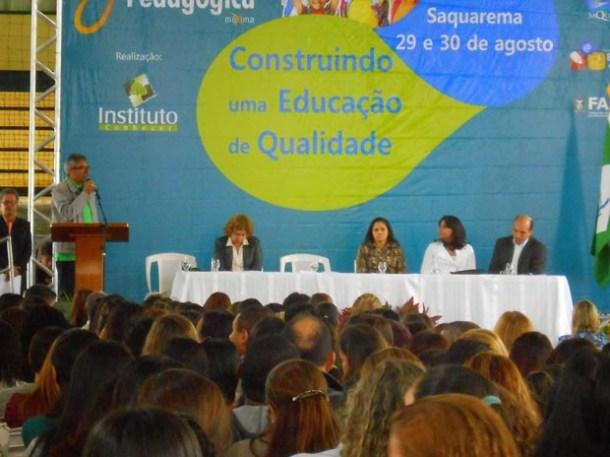 A Faetec recebeu o evento direcionado aos professores do município (Foto Michele Maria - Blog Notícias da Região dos Lagos)
