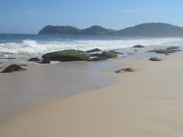 A bela paisagem está ameaçada pela construção do porto  (Foto: Edimilson Soares)