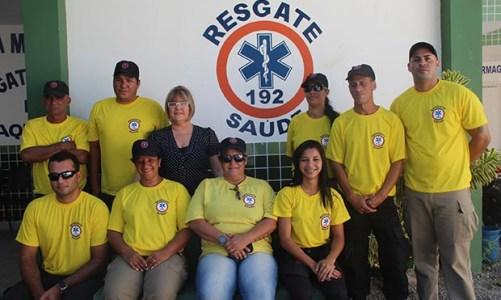 Resgate Saúde salvando vidas