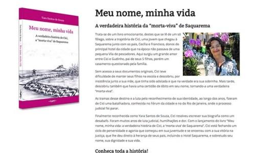 """Site da """"Morta-Viva"""" de  Saquarema já está no ar"""