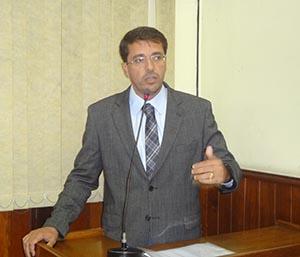 O vereador Rodrigo Borges foi quem fez a acusação na tribuna da Câmara (Fotos: edimilson soares)