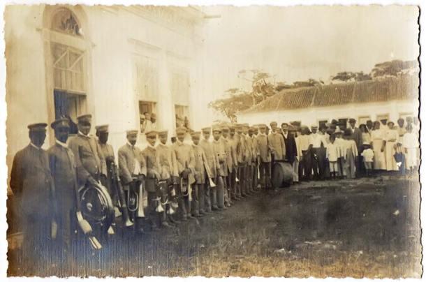 A banda Lira União de Saquarema (LUS)