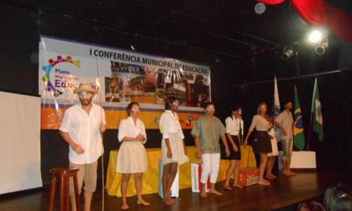 Conferência Municipal de Educação  debateu o ensino no município