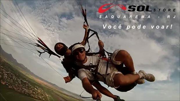 A inauguração da Sol Store trás o voo livre para o centro de Saquarema            Página 7