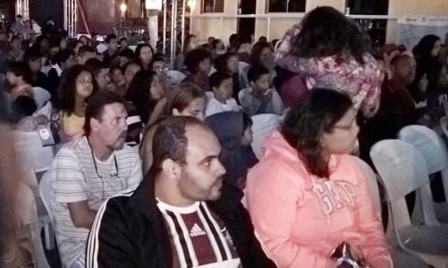 Cine na Estrada passou  por Saquarema