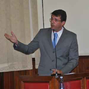 Acima, o vereador Rodrigo Borges, presidente da CPI (Edimilson Soares)