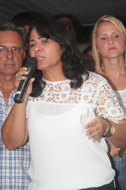 A secretária Ana Paula
