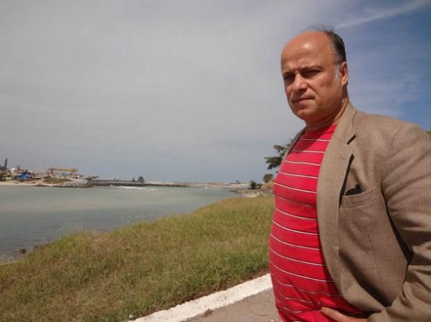 Segundo André Moreira, o monitoramento da Lagoa de Saquarema não é o ideal e faltam estudos sobre a Lagoa de Jacarepiá, a única lagoa de água doce da Região dos Lagos (Foto: Dulce Tupy)