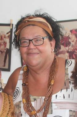 A nova secretária de Educação Elizabeth dos Santos (Fotos: Edimilson Soares)