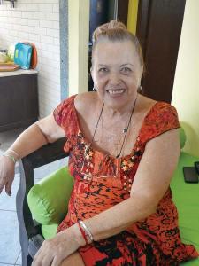 Sônia em sua casa em Itaúna. (Foto: Edimilson Soares)