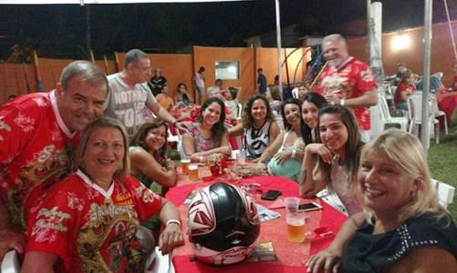 Família Chagas homenageia São Jorge