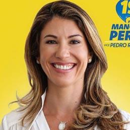 1º luagr, Manoela Peres
