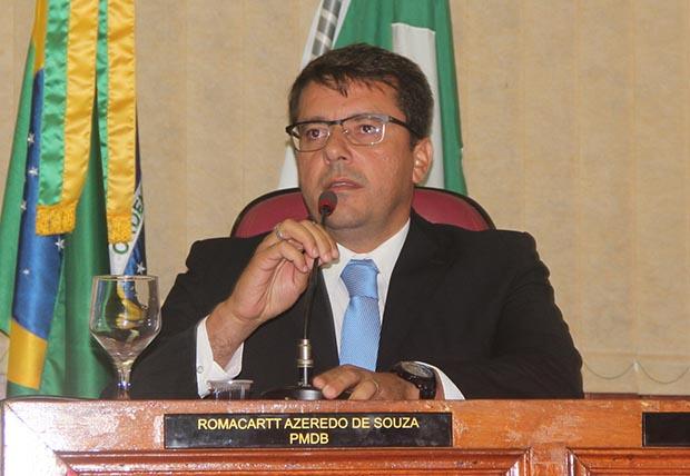 O novo presidente da Câmara, o vereador e advogado Rodrigo Borges (Foto: Edimilson Soares)