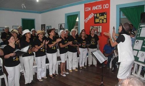 100 anos do samba foram comemorados com palestra na Casa da Cultura