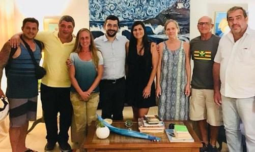 Convention & Visitors Bureau se reúne com a Associação de Surf de Saquarema