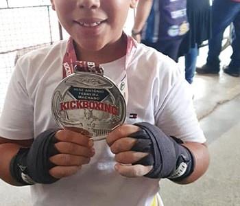 Pequeno atleta em São Gonçalo