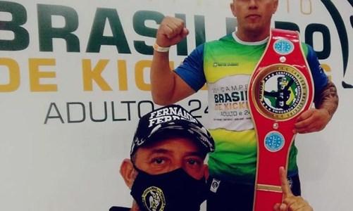 Jhonathan, Campeão Brasileiro de Kickboxing, agora na Seleção Brasileira do Kickboxin e no Campeonato Sul-Americano