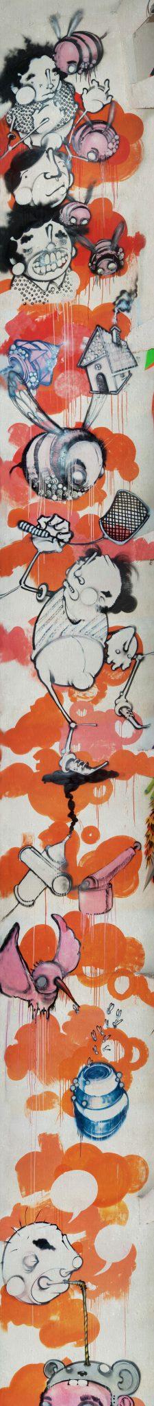 Graffitti do artista Onesto