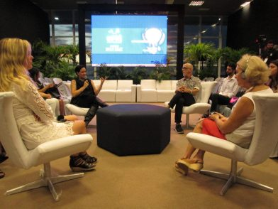 Bate-papo animado entre Brasil e Argentina no DPM