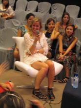 Kika, a criadora da semana de Moda mais importante na Argentina, a BAF Week