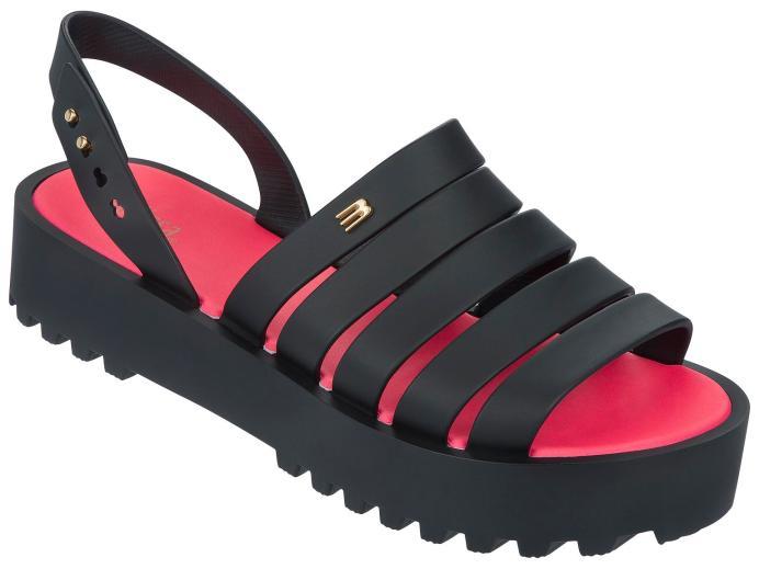 Melissa - Flat form com tiras - Osasco Fashion (1)