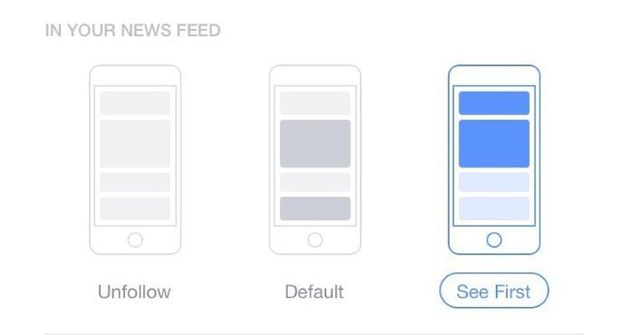 O dono do Perfil ou Página não será informado quando um usuário lhe der prioridade (Foto: Adweek)
