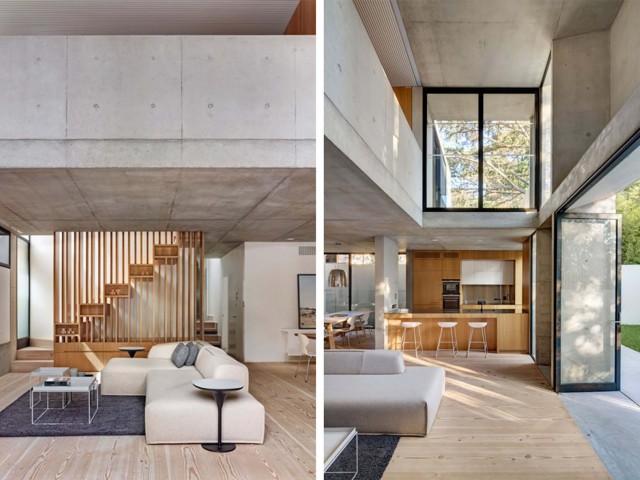 Модерна бетонна къща в Австралия