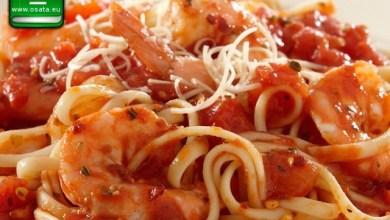 Рецепта как да приготвим паста със скариди и домати