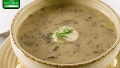 Рецепта за гъбена супа с овесени ядки