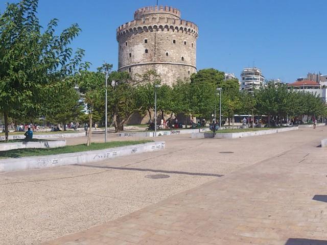 Екскурзия в Гърция. Кулата в Солун
