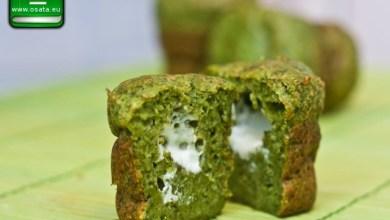 Рецепта за зелени солени мъфини с фета