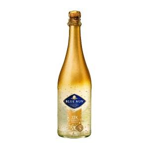 Шампанско със златни частици Blue Nun Gold Edition 22K