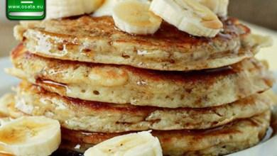 Рецепта за бананови палачинки с овесени ядки