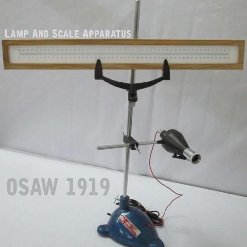 Lamp And Scale Apparatus
